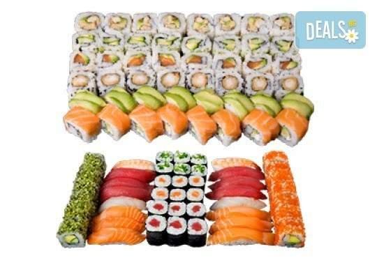 Хапване от Sushi King! Включва 66 хапки сет Токио