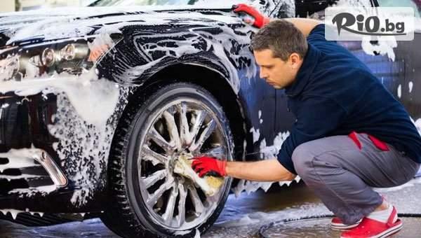 VIP цялостно, комплексно измиване на лек автомобил, джип или ван с 44% остъпка, от Автомивка Топек