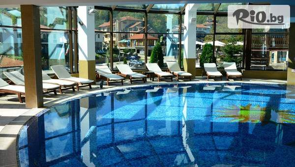Почивка в Троянския Балкан през Май! 1 или 2 нощувки със закуски и вечери + вътрешен басейн с топла минерална вода и релакс зона, от Алфарезорт Палас Чифлика