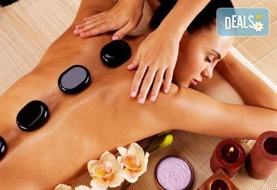 Масаж на тяло с какаово масло и пилинг, Hot Stone терапия и масаж на лице в GreenHealth