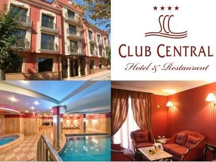 Релаксирайте в хотел Клуб Централ****, Хисаря! Включва изхранване закуска!