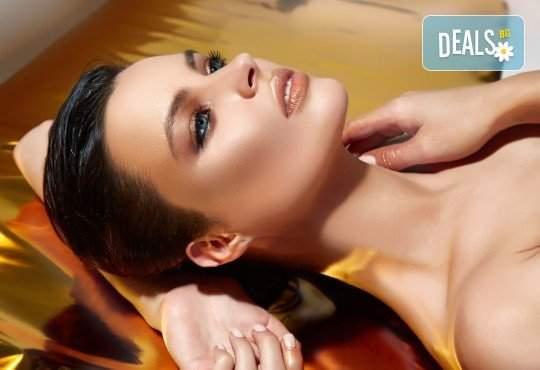 """СПА масаж """"Златен дъжд"""", терапия за ръце и лице в Senses Massage & Recreation"""