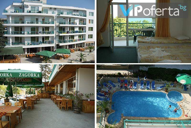 Релаксирайте в Хотел Приморско! Включва изхранване закуска! + Басейн