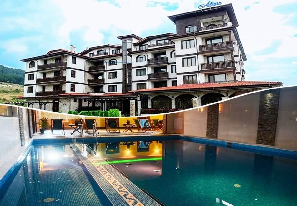 Отпочивайте в хотел Алегра, Велинград! Включва зона за релакс, вечери и закуски!