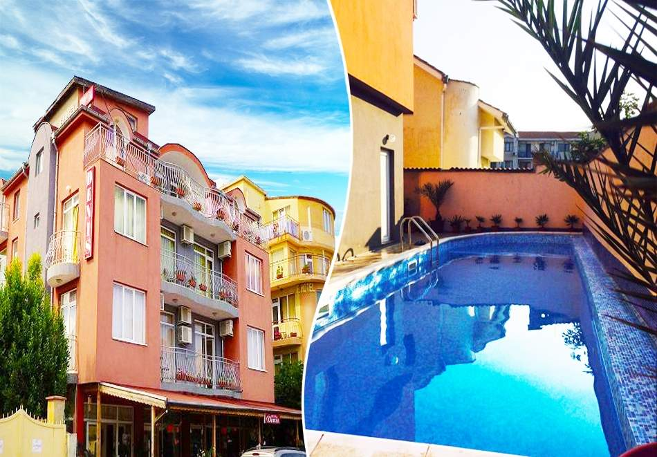 Пълен релакс в хотел Денис, Равда! Включва басейн и закуска!