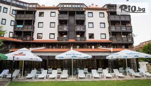 Почивка в Банско до края на Юни! Нощувка със закуска и вечеря + басейн и релакс зона, от  Хотел Каза Карина