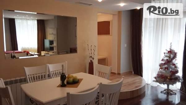 Почивка в Банско! Нощувка за шестима в двуспален апартамент + индивидуално ползване на сауна, джакузи и парна баня, от Lux Apartament