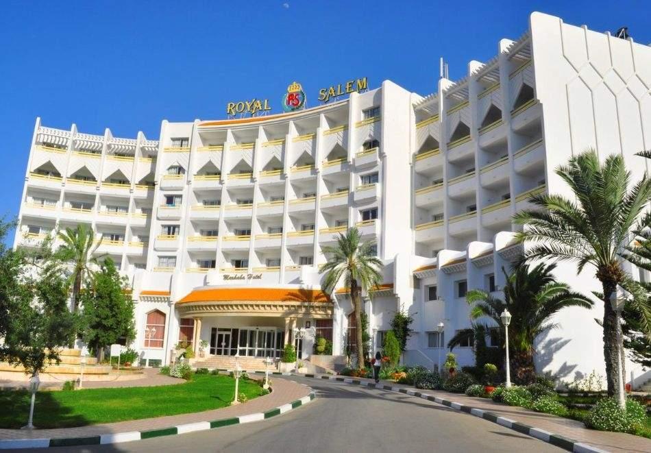 Почивка в Тунис от юни до септември 2021. Чартърен полет от София + 7 нощувки на човек на база All Inclusive в хотел Marhaba Rоyal Salem 4*, Сус!