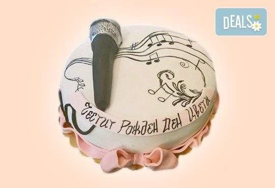 Вкусно изкушение от Сладкарница Джорджо Джани! Включва Торта за музиканти, DJ и артисти