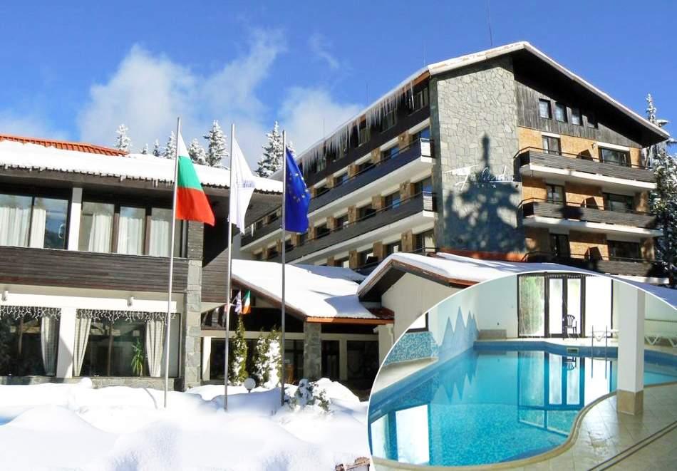 На ски в Пампорово. Нощувка на човек със закуска и вечеря + басейн в хотел Финландия****