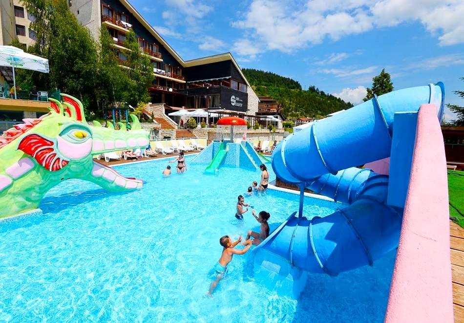 Отпочивайте в хотел Селект****, Велинград! Включва пълно изхранване и басейн с минерална вода! + Аквапарк