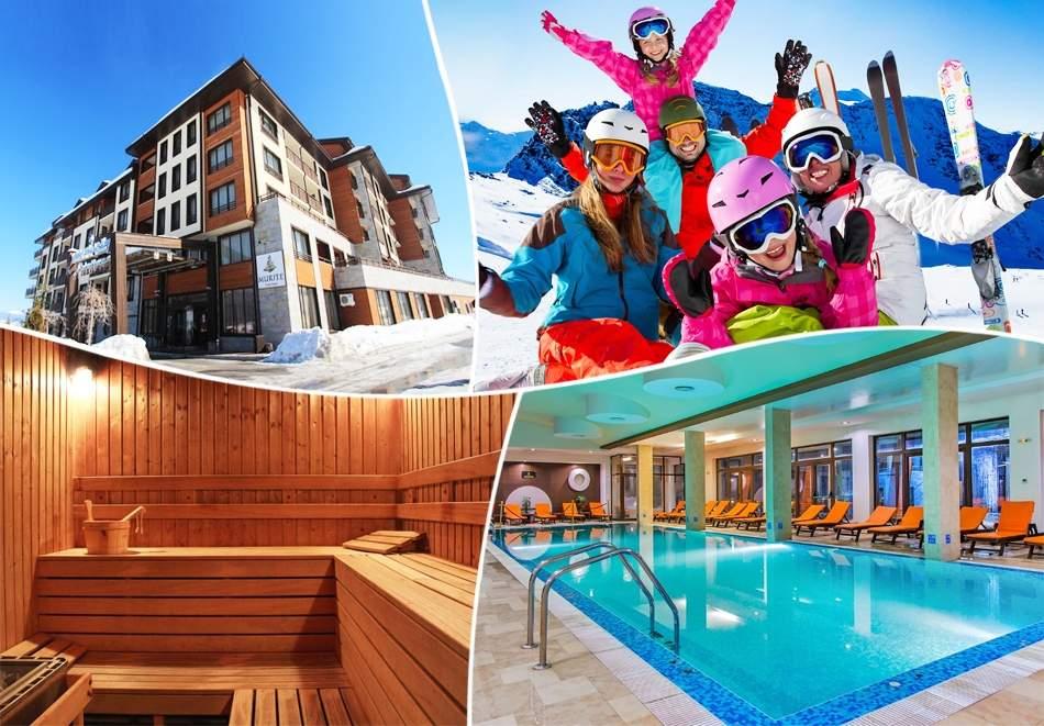 Релаксирайте в Мурите Клуб Хотел, край Банско! Възползвайте се от басейн и изхранване вечеря/закуска! Плюс СПА