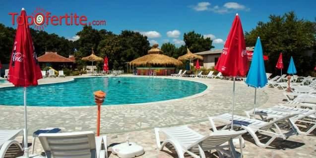 На море в Хотел Кремиковци, Китен! Нощувка + закуска или закуска и вечеря, басейн, шезлонг и чадър около басейна на цени от 25 лв на човек