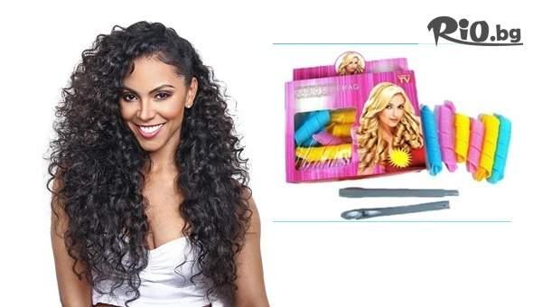 Ролки за коса Magic Levarag за лесно и бързо къдрене, от Prodavalnikbg.com