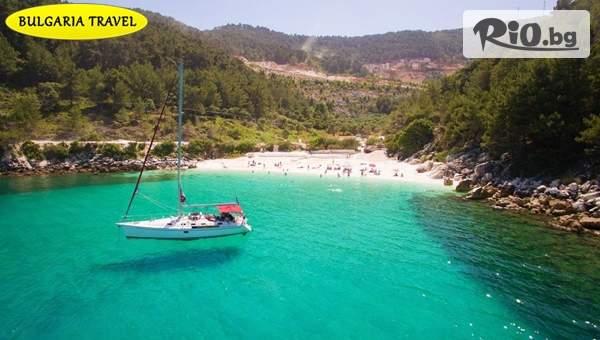 Почивка на красивия остров Тасос през Август или Септември! 5 нощувки със закуски и вечери + транспорт, от Bulgaria Travel