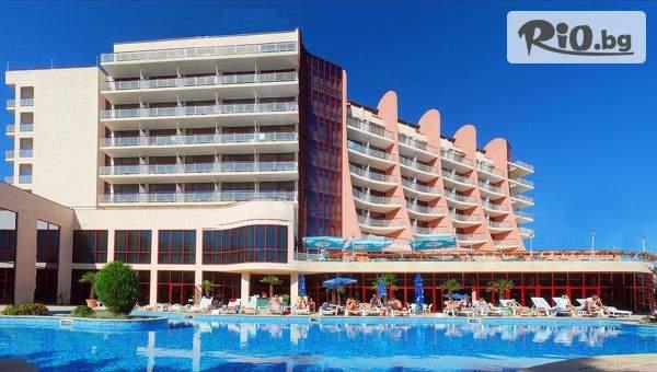 Лятна почивка в Златни пясъци! Нощувка на база All Inclusive + външен басейн и шатъл до плажа + дете до 12г. безплатно, от Аполо Спа Хотел