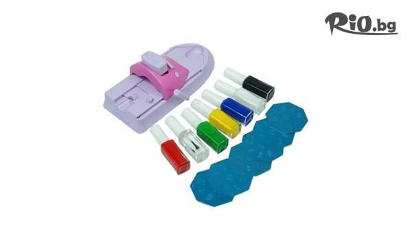 Подарък за любимата жена! Машинка за декориране на нокти, от Prodavalnikbg.com