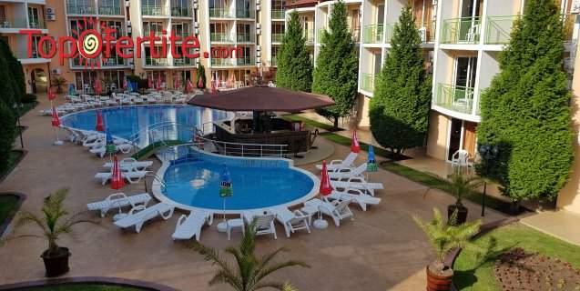 На море в Хотел Сън Сити 3*, Слънчев бряг! 3, 5 или 7 нощувки на база All Inclusive + открит басейн, шезлонг и чадър на цени от 125 лв. на човек