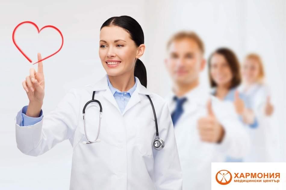 Ехографски преглед на една става по избор + ехографска снимка от ставата в Медицински център Хармония