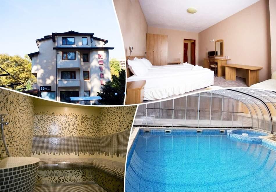 1, 3, 4 или 5 нощувки на човек със закуски, обеди и вечери + минерален басейн и релакс зона от хотел Прим, Сандански