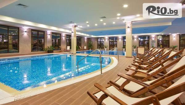Ваканция в Гранд Хотел Велинград! Включва басейни с минерална вода, вечеря и закуска! Плюс СПА