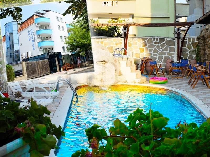2+ нощувки на човек на база All Inclusive + басейн в хотел Свети Стефан, Приморско!