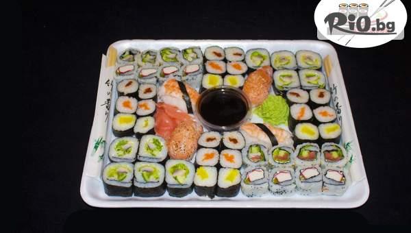 Вкусно хапване от Суши Маркет! Включва Суши сет