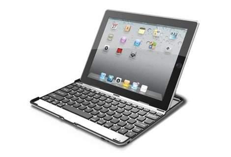 По-удобно, по-стилно, по-лесно! Алуминиев кейс за вашият iPad 2 или 3 с вградена безжична Bluetooth клавиатура на специална цена от 19 лв.