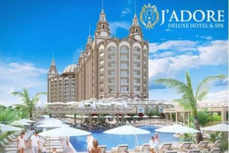 РАННИ ЗАПИСВАНИЯ ЛЯТО В АНТАЛИЯ, JADORE DELUXE HOTEL AND SPA 5*: 7 нощувки ALL INCLUSIVE + АВТОБУСЕН ТРАНСПОРТ на цени от 511 лв. на ЧОВЕК