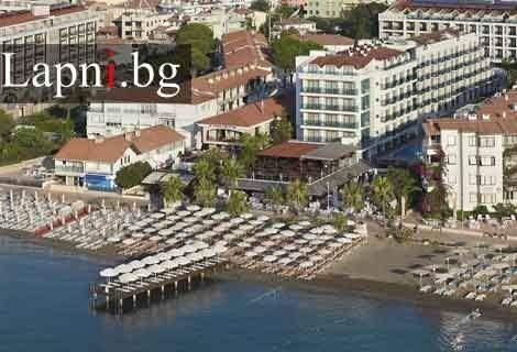 Лято 2019 в Мармарис, хотел EMRE HOTEL 4* на брега: Самолетен Билет + 7 нощувки ULTRA ALL INCLUSIVE на цени от 795 лв. на ЧОВЕК