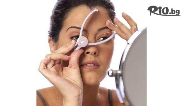 Конец Slique за обезкосмяване на лицето на промо цена, от Topgoods.bg
