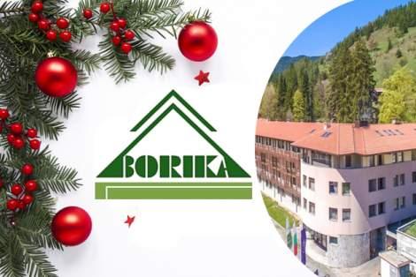 Посрещнете 2021-ва година в Хотел Борика****, Чепеларе! Включва басейн и изхранване закуска!