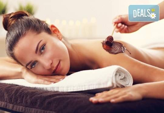 Релаксирайте в Chocolate Studio! Включва антистрес масаж с шоколад