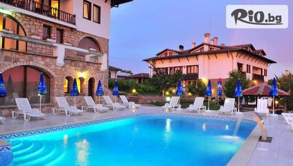 Релаксирайте в СПА хотел Винпалас, Арбанаси! Включва басейни, вечеря и закуска! Плюс парна баня