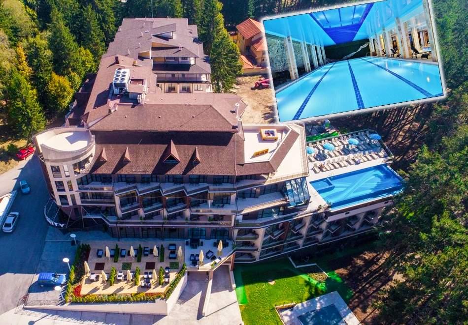 Уикенд за ДВАМА в Инфинити Парк Хотел и СПА, Велинград! 2+ нощувки със закуски, вечери* + минерални басейни и СПА