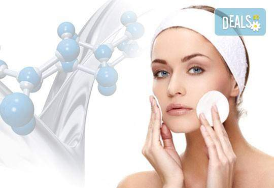 Почистване на лице, терапия, масаж по Зоган и оформяне на вежди в салон Madonna