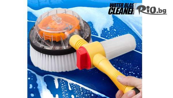 Topgoods.bg предлага Автоматично въртяща се четка за миене на промо цена!