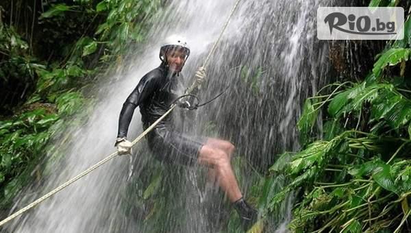 Каньонинг по Влахинския водопад - 35 метра екстремно преживяване, от Adventure Net
