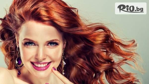 Възползвайте се от Боядисване, измиване и оформяне на прическа в Салон за красота Bibi fashion!