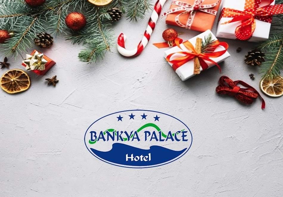 Отпразнувайте Коледните празници в хотел Банкя Палас! Включва вечери/закуски