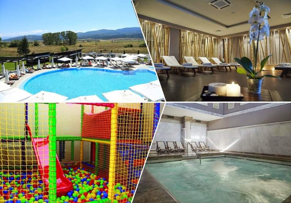 Топ оферта! Почивайте в хотел Белчин Гардън*4, Белчин Баня! Включва минерален басейн и закуски!