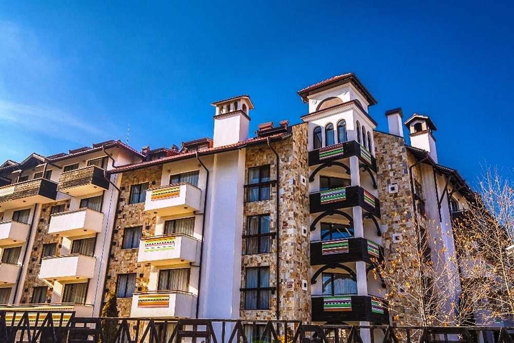 Нощувка в апартамент за четирима + руска баня в  апарт хотел Дрийм***, Банско