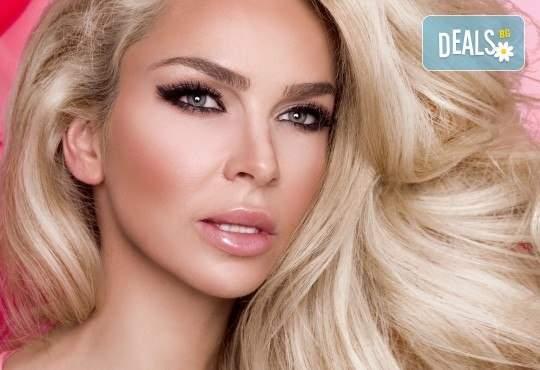 Грижа за вашата прическа в Салон за красота Blush Beauty! Включва боядисване и терапия