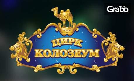 Цирк Колозеум в София през Ноември! Вход за спектакъл на дата по избор - в квартал Гео Милев