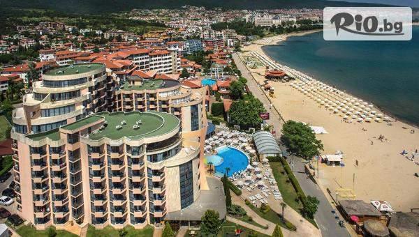 През Юни на море в Слънчев бряг! 1 или 3 нощувки на база All Inclusive + басейн и шезлонг, от Marlin Beach Hotel на първа линия