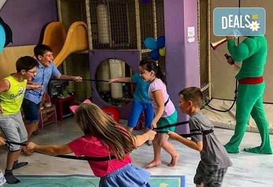 2 часа детски рожден ден за 10 деца в Детски клуб Аристокотките с аниматор